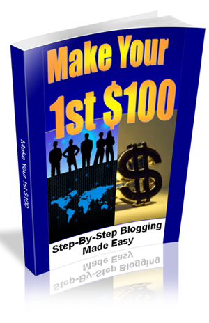 make your first 100 dollars by blogging